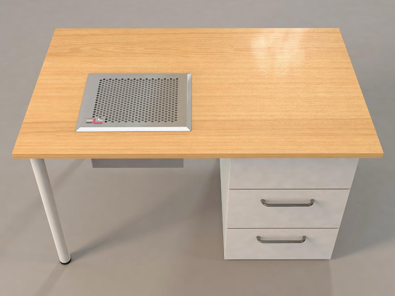 Профессиональная встраиваямая вытяжка для маникюрного стола - ONE Element